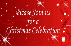 Easy Christmas Dinner Party Menu - xm141 please join us for a christmas celebration signs