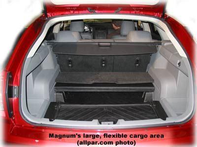 dodge magnum interior dimensions 2005 2009 dodge magnum production car