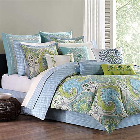 echo design comforter sets echo design sardinia reversible comforter set bed bath