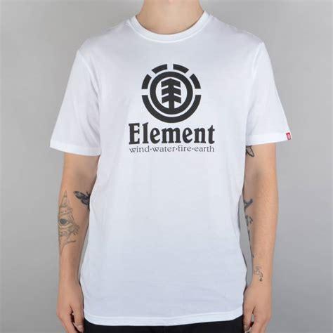 Sweater Element Skate For 2 Zalfa Clothing element skateboards vertical skate t shirt white black