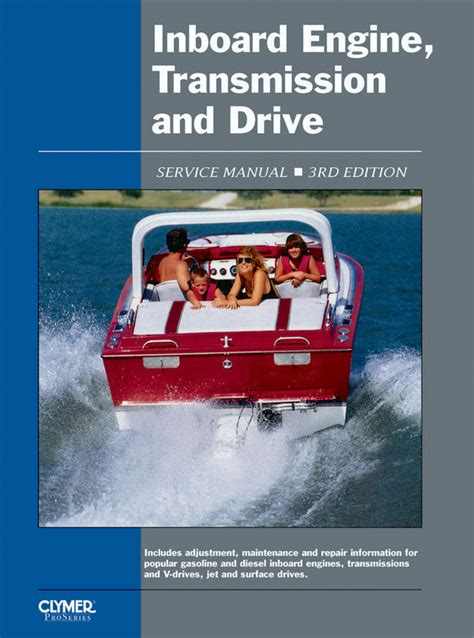 proseries inboard engine transmission drive service repair manual covers bmwchryslerforce