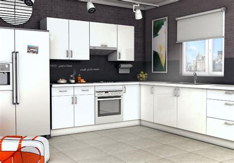 modele de cuisine en l visuel modele cuisine equipee en u
