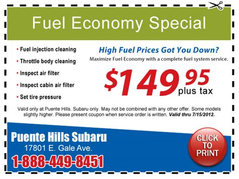 Promo Penghemat Gas Lpg Special subaru fuel system cleaning special coupon los angeles service