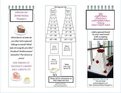 Wedding Cake Estimate by Pastazia S Cakery Cake Estimate Form
