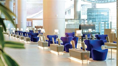 Resturant Floor Plan Qatar Airways Best Business Class Airline Lounges Around