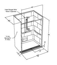 Standing Shower Dimensions by Switch Lights See For Diagram White Switch Get Free Image About Wiring Diagram