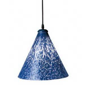 Cobalt Blue Mini Pendant Lights Shop Plc Lighting Rioi 10 25 In W Cobalt Blue Black Mini Pendant Light With Shade At Lowes