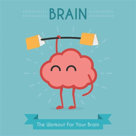 for the brain exercise for the brain design vector free