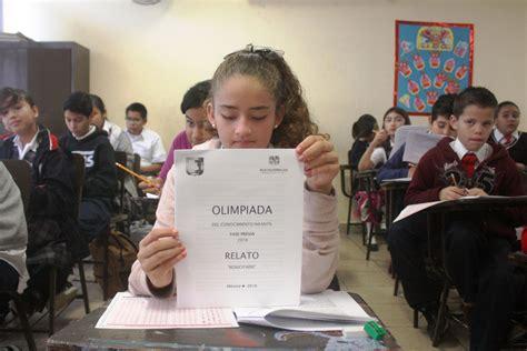 hresultados de la olimpiada del conocimiento infantil 2016 municipio salinas s l p 13 000 estudiantes de bcs aplicar 225 n para examen de la