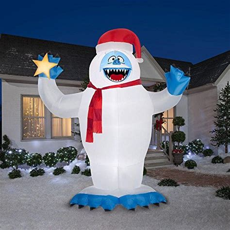abominable snowman christmas decorations for indoors and