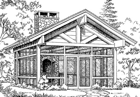 shelter house plans screened picnic shelter 2 sets southern living house plans
