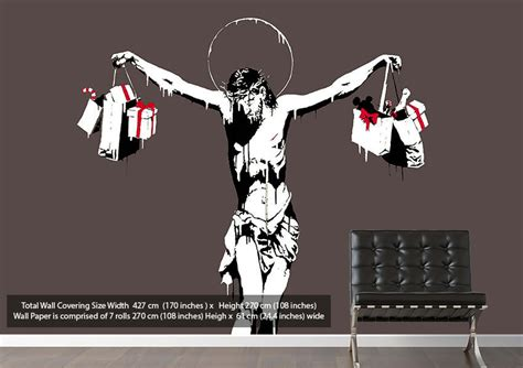 Banksy Wall Art Stickers blog banksy wallpaper murals