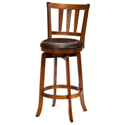 Cherry Finish Counter Stools by Presque Isle 26 Quot Swivel Counter Stool Cherry Finish