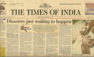 Newspaper Report Writing On Earthquake In Gujarat by Doug Copp Helping The Prime Minister To Renegotiate His World Bank Loan Doug Copp S