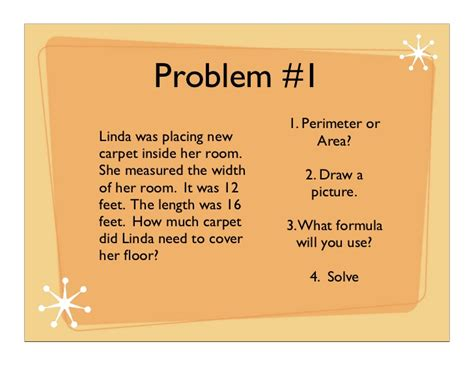 Gardening Questions Issues And Problems Perimeter And Area Word Problems