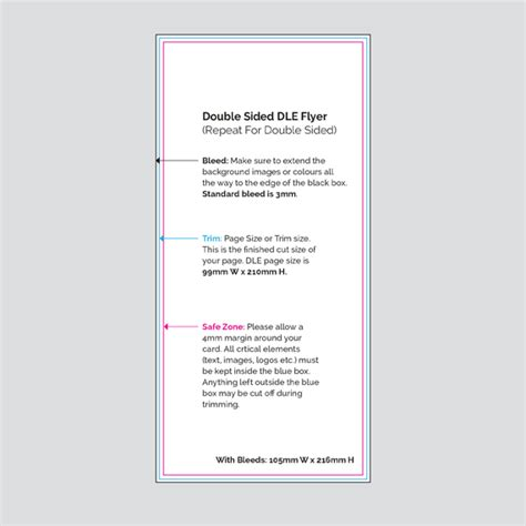 two sided brochure template sided dl flyers print