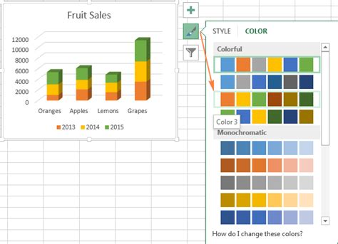 color themes in excel how to change axes labels in excel 2007