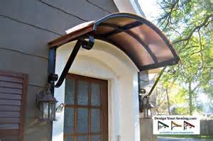 Copper Door Canopy by The Eyebrow Gallery Copper Awnings Projects Gallery