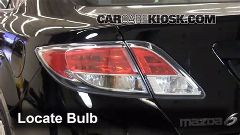 mazda 6 light bulb brake light change 2009 2013 mazda 6 2009 mazda 6 i 2 5l