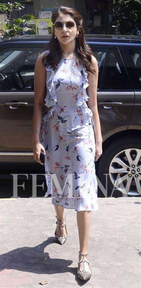Sharma Dress anushka sharma fashion gallery femina in
