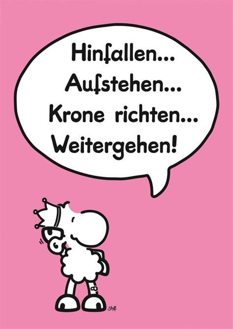 Spruch Krone Richten by Krone Richten Sheepworld Echte Postkarten Versenden