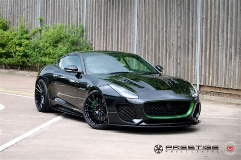 Lister S Jaguar F Type Svr Has Custom Green Accents