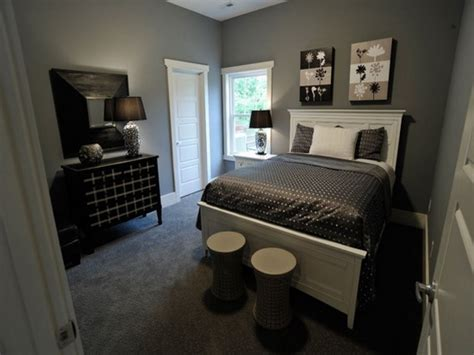 Grey Walls Small Bedroom Master Suite Design Ideas Bedroom Ideas With Grey