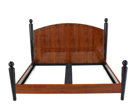 king size bed headboard and footboard king size headboard footboard bed for sale at 1stdibs