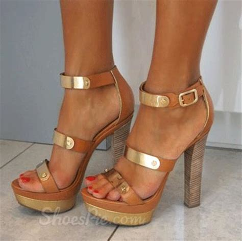 High Heels With Platforms Comfortable by Comfortable Platform Chunky Heel Sandals Shoespie