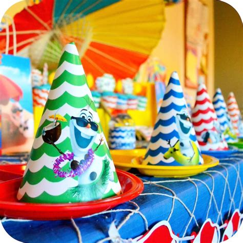 Summer Party Decorations by Kara S Party Ideas Olaf S Summer Bash Frozen Themed