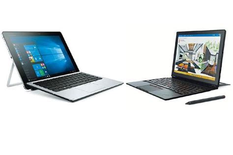 Hp N Tablet Lenovo lenovo thinkpad x1 v hp elite x2 a balancing act