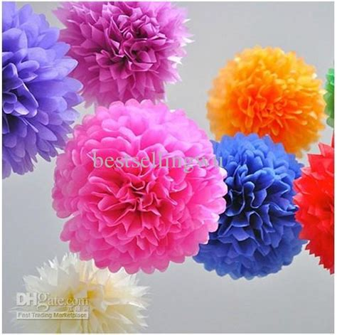 How To Make Colored Paper Flowers - high quality diy colored paper flower for wedding
