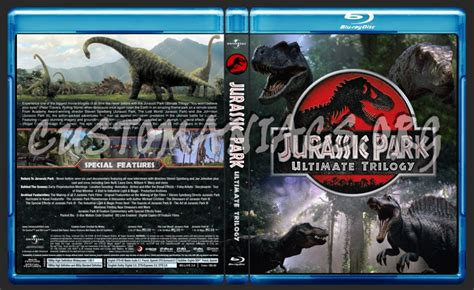 Original Jurassic Park Ultimate Trilogy jurassic park ultimate trilogy cover dvd covers labels by customaniacs id 155528
