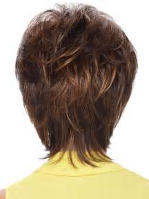 Short Hair With Shag Back View | back view of shag haircut short hairstyle 2013