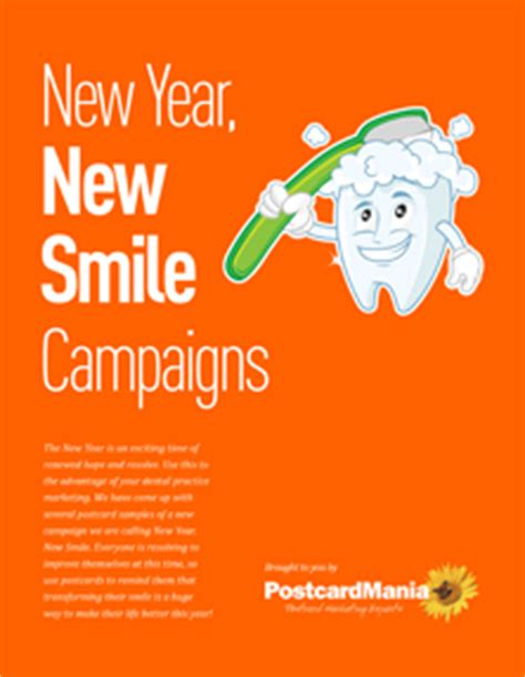 new year marketing ideas new year new smile dental marketing caigns free