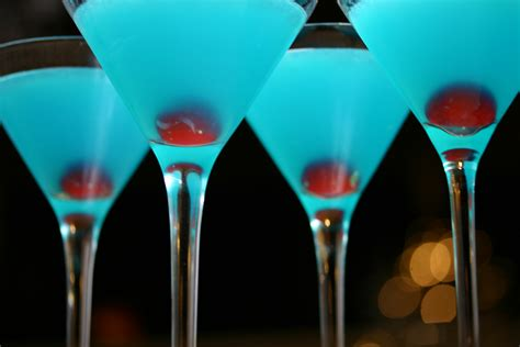 blue cocktails twelve cocktails of christmas ten more bites