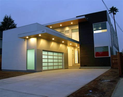 modern homes with carports with opening doors made of glass modern building luxury homes with