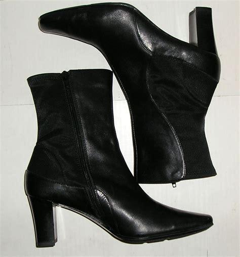 liz claiborne boots liz claiborne flex sicilia s black leather fashion