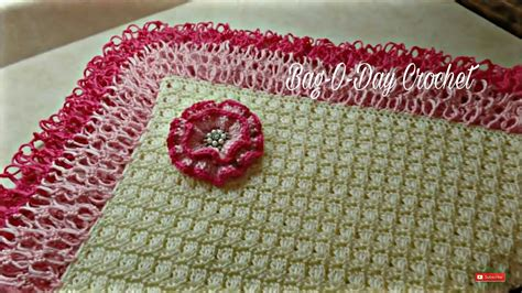 youtube tutorial crochet baby blanket crochet how to crochet beautiful lacy baby blanket