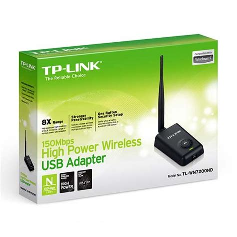 Usb Wifi Tp Link Tl Wn7200nd tp link tl wn7200nd high power wireless n150 usb adapter