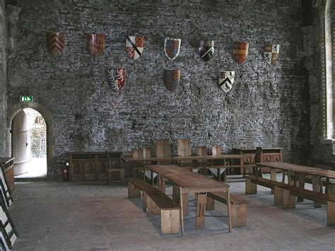 Gothic Dining Room Furniture by Caerphilly Castle
