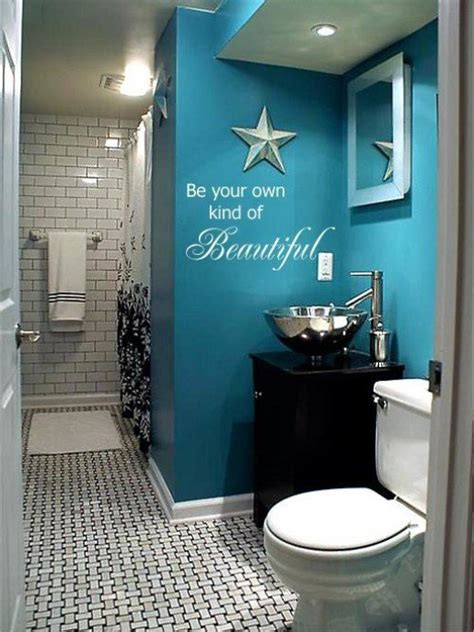 Teal And White Bathroom The Colors Of The Home D 233 Cor Ideas Dengarden
