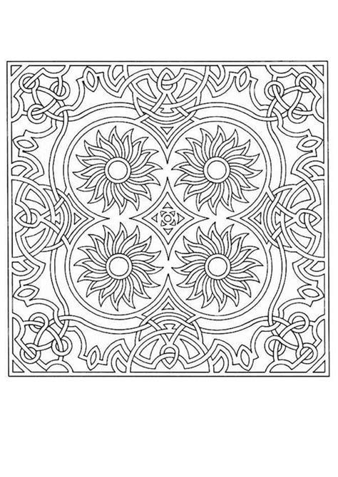 girly mandala coloring pages mandala 16b coloring pages hellokids