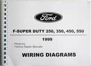 1999 ford f250 f350 f450 f550 duty truck electrical