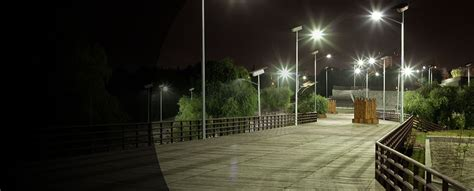 Landscape Lighting Zones Carmanah Solar Lighting Solutions For Infrastructure