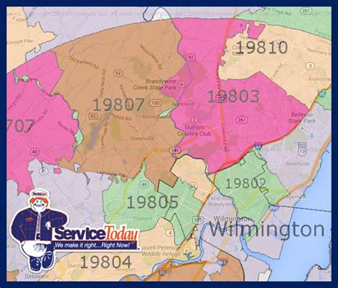 zip code map delaware wilmington de area zip code map my blog