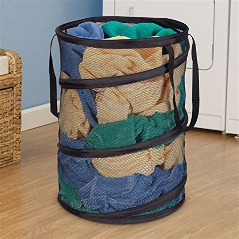 pop up mesh laundry household essentials pop up collapsible mesh laundry