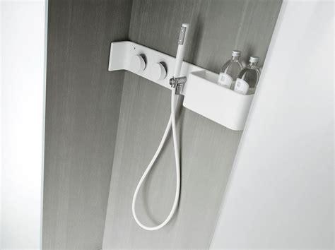 Corian Shower Shelf corian 174 bathroom wall shelf shower tap ergo nomic