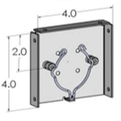 Bracket Box Vixion New Shadis Breket motorized shade components ciera inc