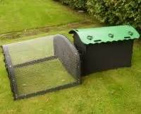 10 x 10 ft plastic kennel floor mini extension run